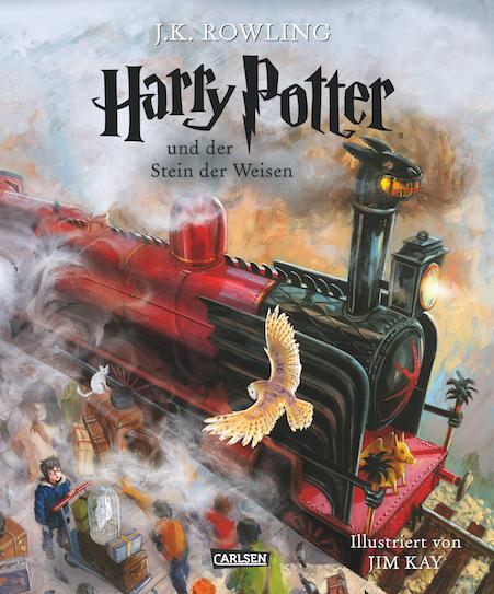 HP der stein der weisen illustriert